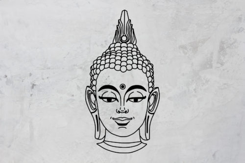 Plotterdatei BUDDHA by SILHOUETTE LOVE