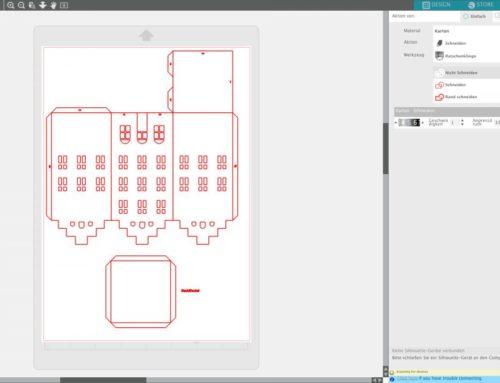 Silhouette Studio: Ebenen schneiden und ritzen